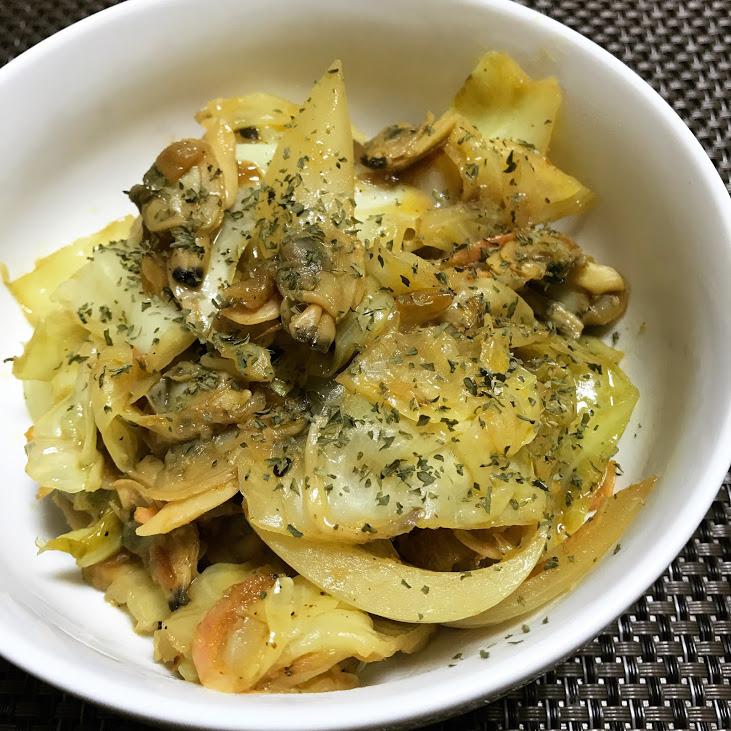 アサリと野菜のヘルシーカレー