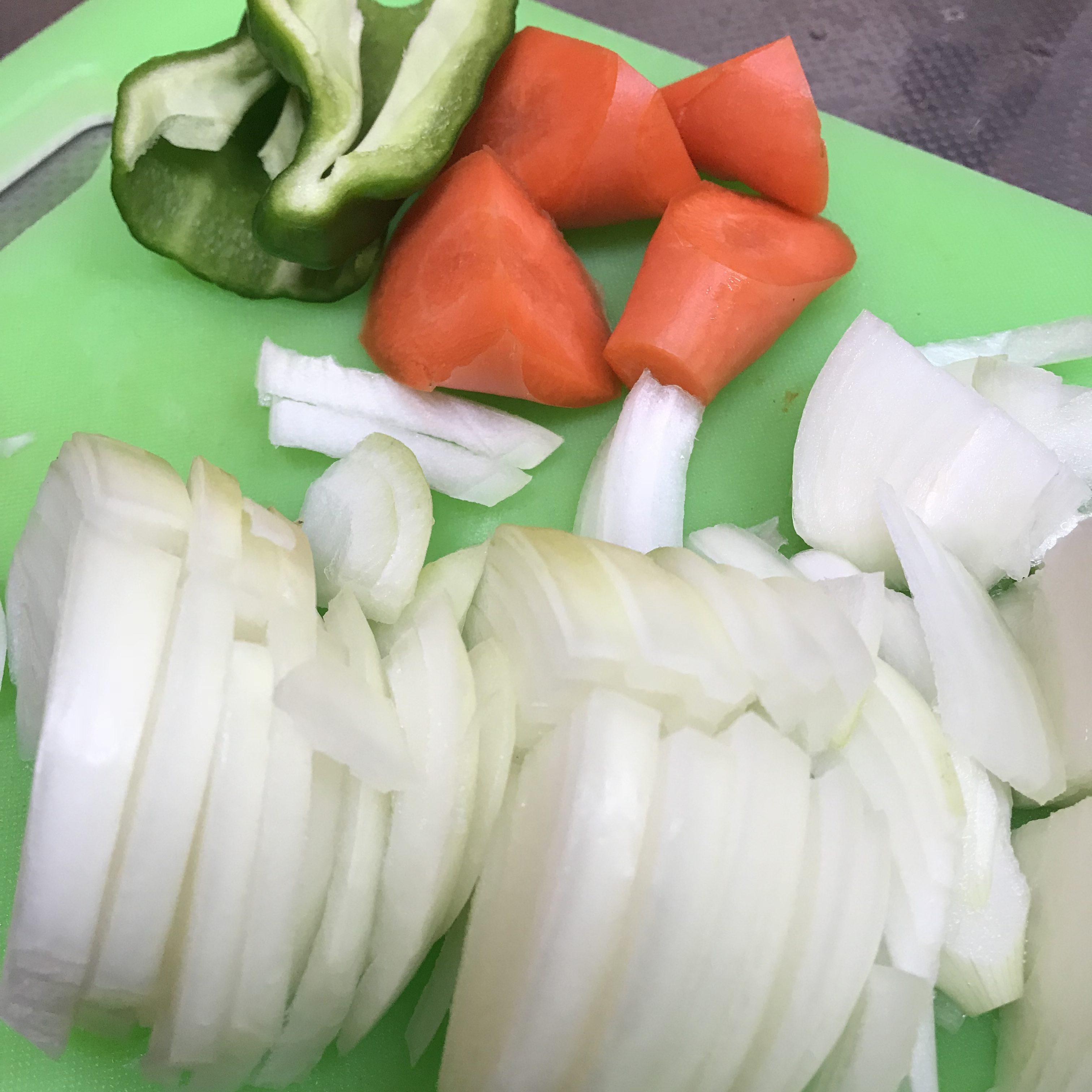 野菜のカット