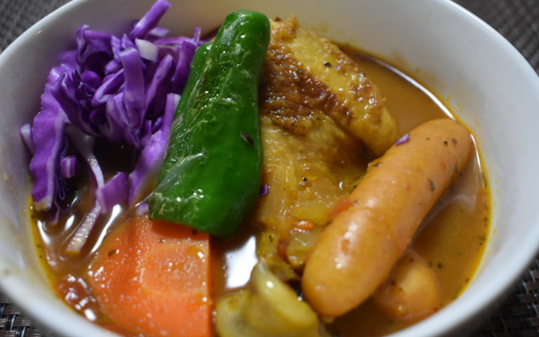 冬には温まる簡単絶品スープカレーはいかが