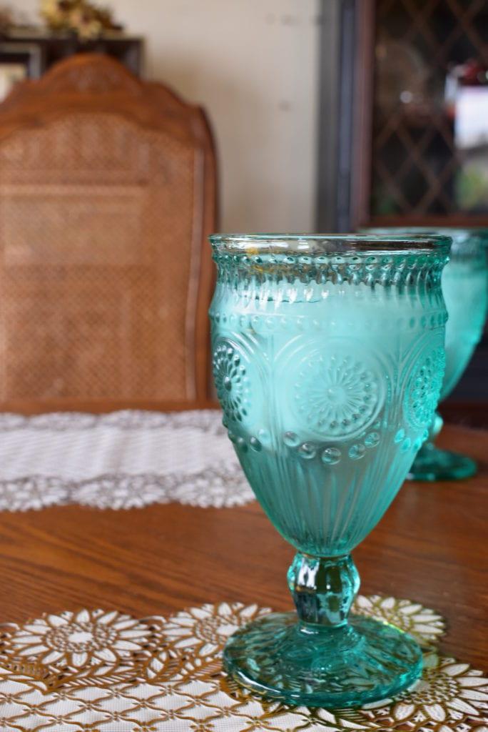 グラスもかわいい