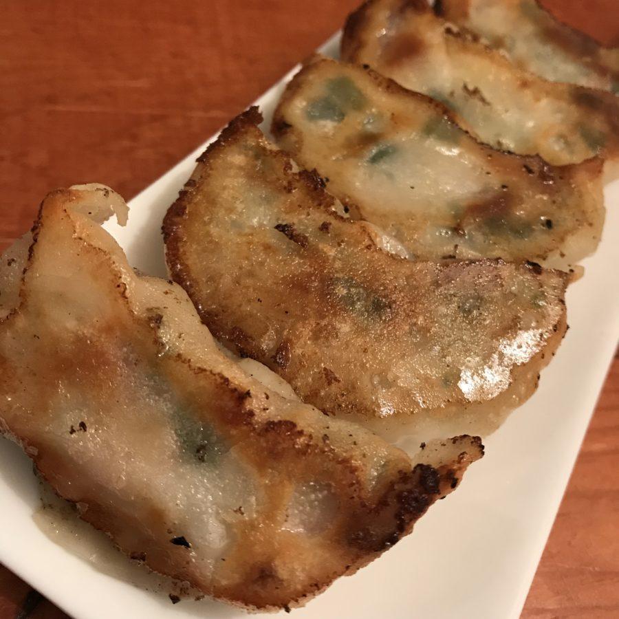県産豚のぎっちり肉餃子