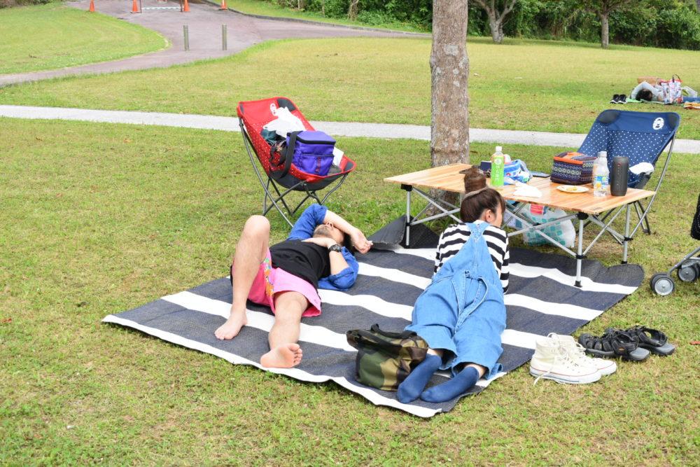 のんびりピクニック