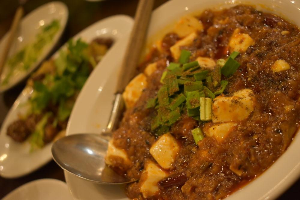 燕郷房の四川麻婆豆腐