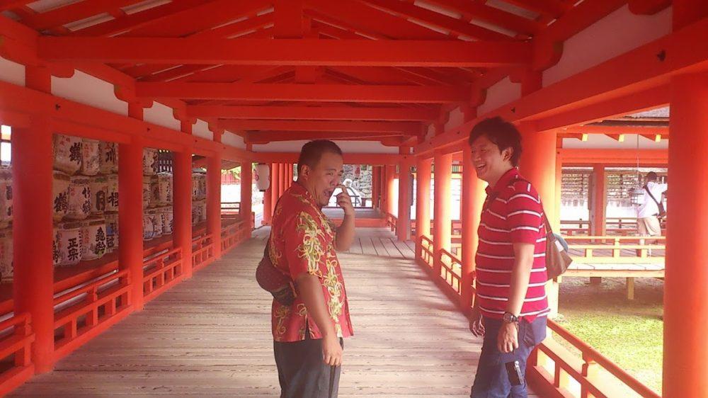 後輩と広島旅行へ