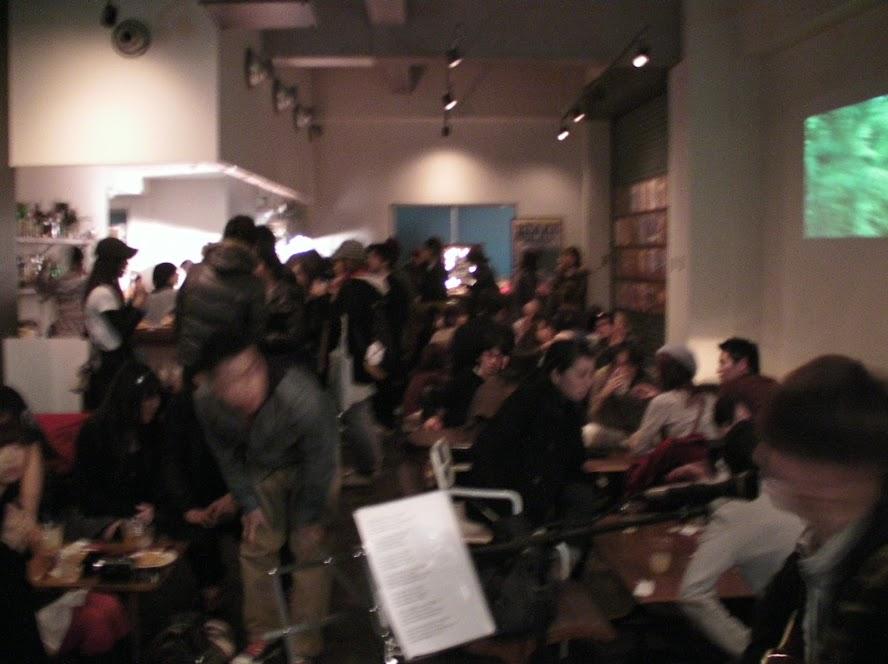 OnEdrop cafe.にてパーティー開催