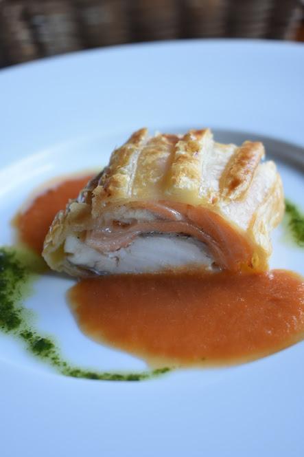 真鯛と鮭のパイ包み焼き