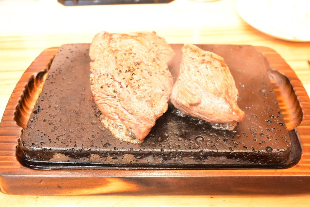 赤身ステーキの登場