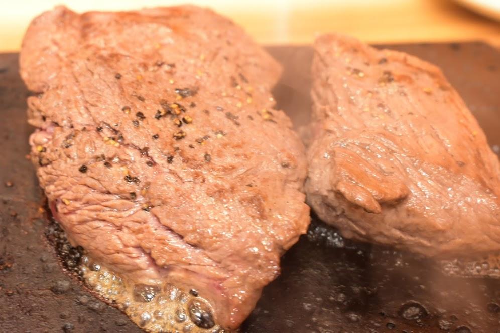 どーんと赤身ステーキ