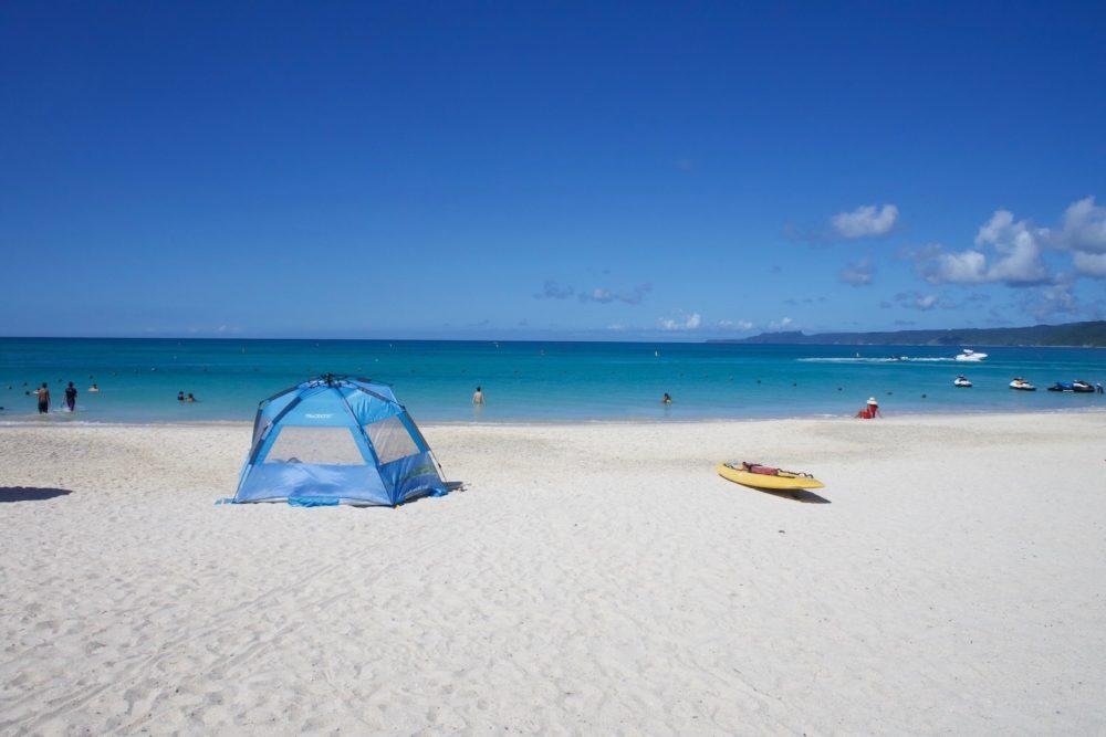 砂浜がきれい