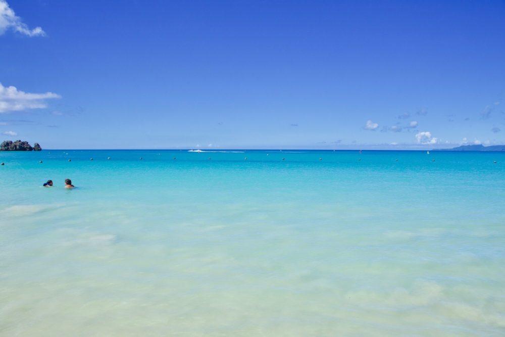 海もきれい