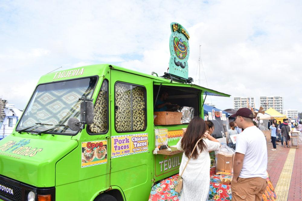 Borrachosのフードトラック