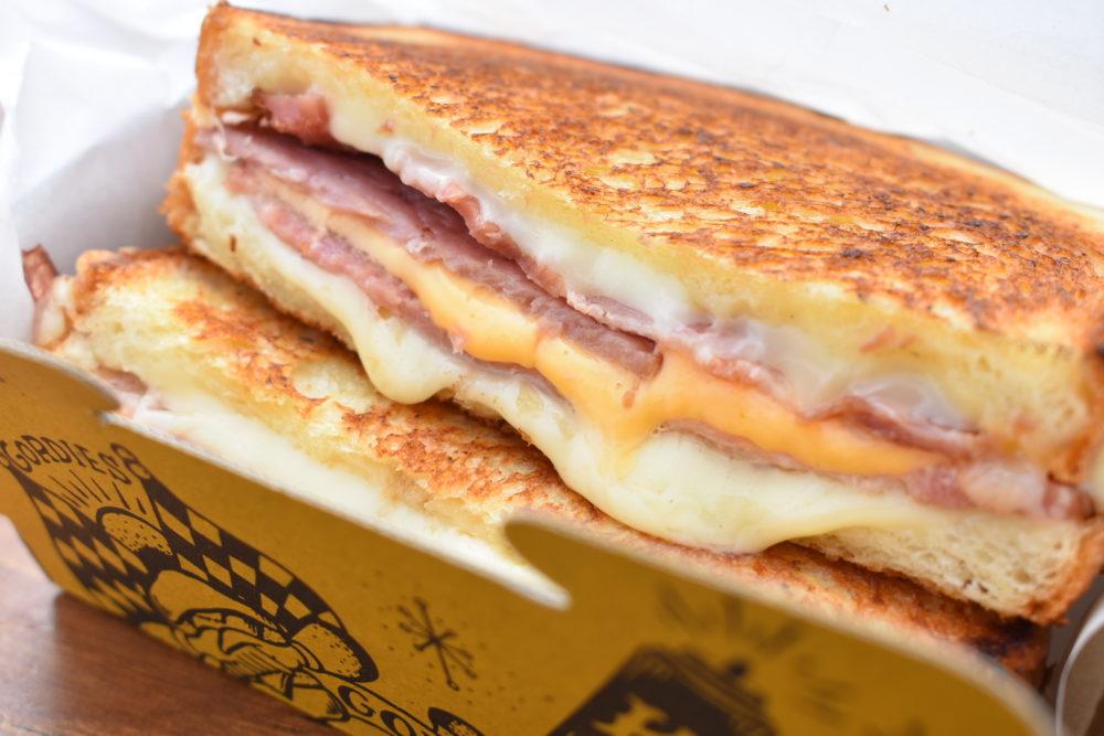 GORDIESのハムチーズサンド