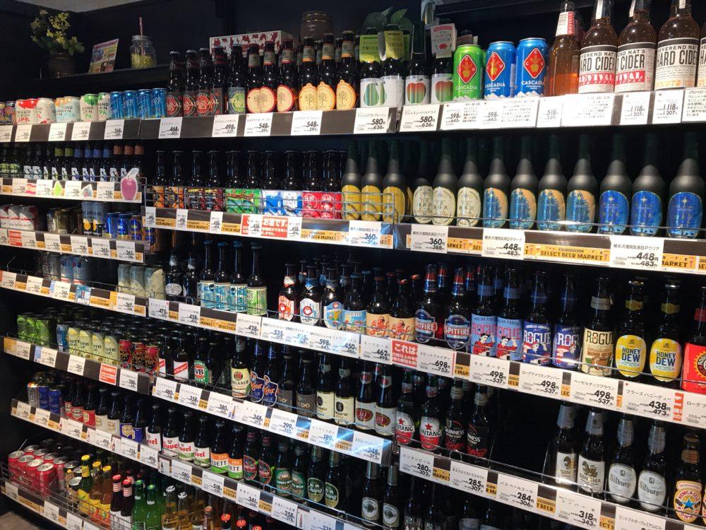 クラフトビールや世界のビール