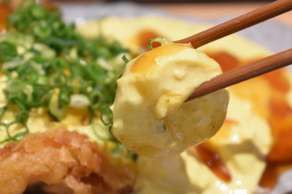 ゆで卵がごろごろ入ったタルタルソース