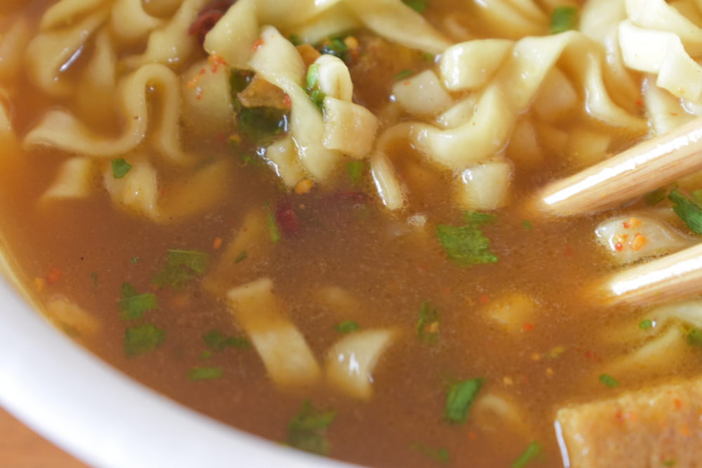 スープの色