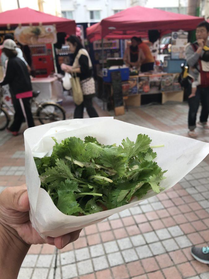 香草フィッシュサンド