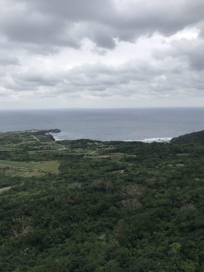 美ら海展望台からの眺め