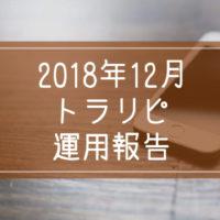 2018年12月トラリピ運用報告