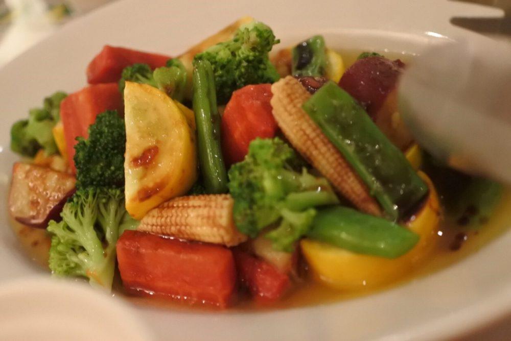 本日のお野菜のミスティカンツァ