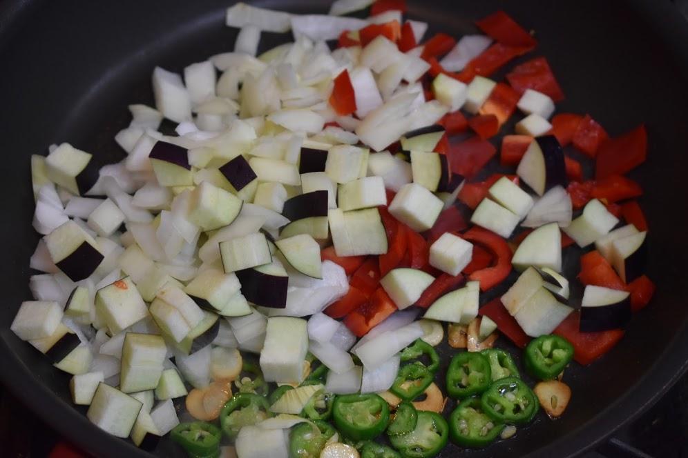野菜をいれる