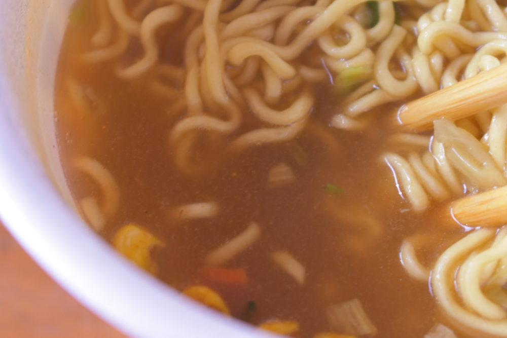 スープはこんな感じ