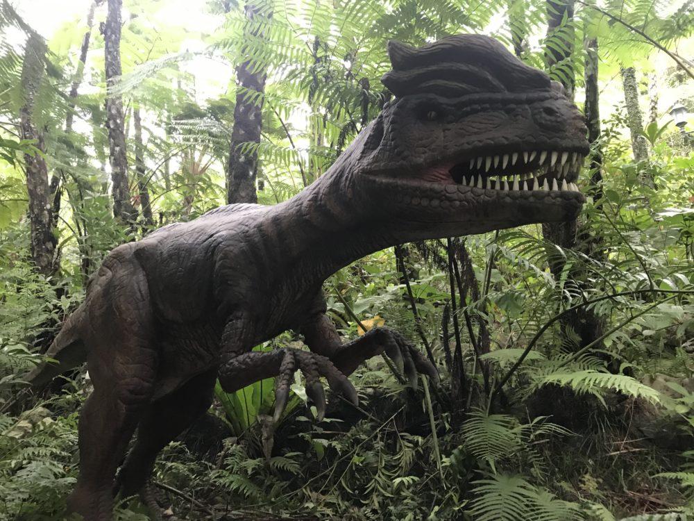 ブサイクな恐竜