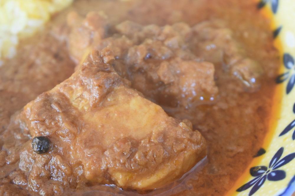 ゴロッと大きな豚肉
