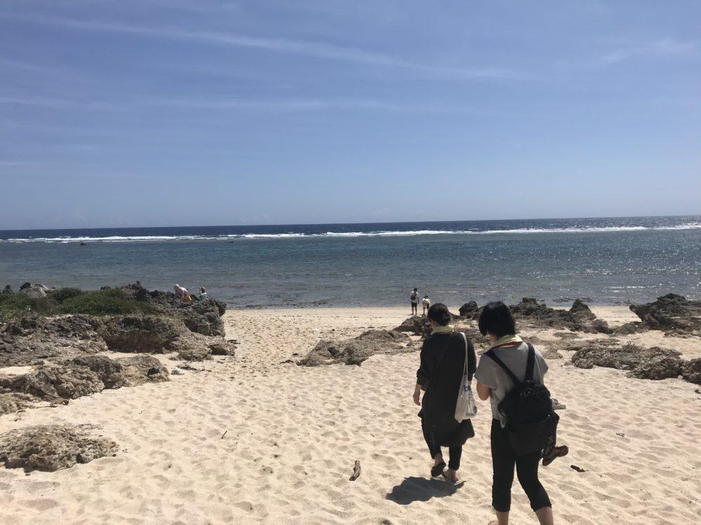 さらさらの砂浜