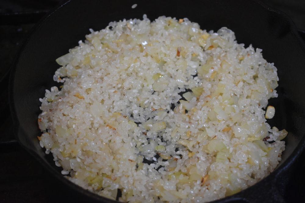 お米がひかる
