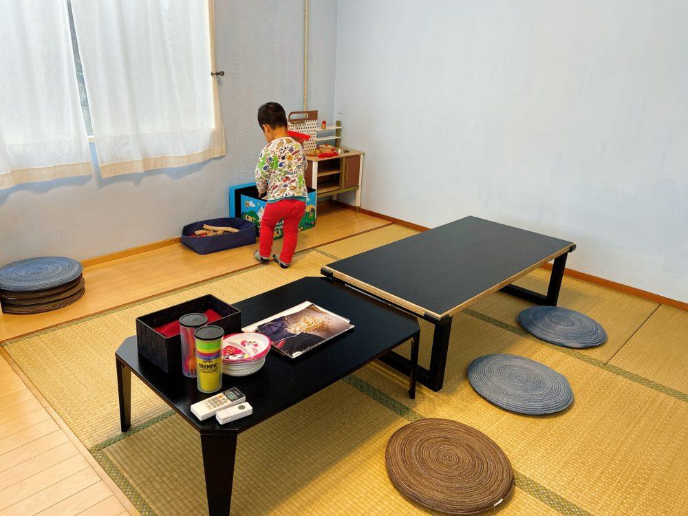 和室のキッズルーム