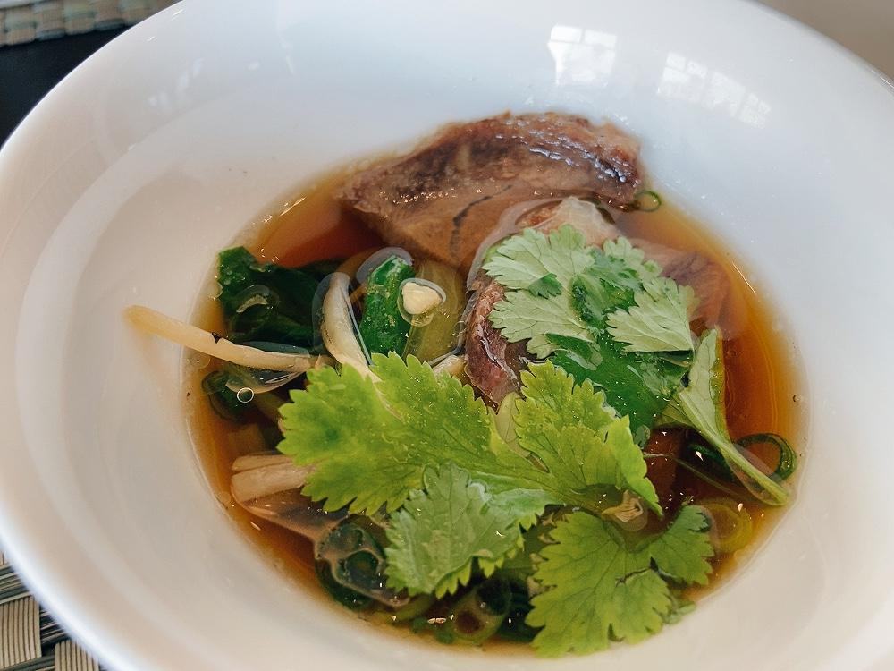 牛肉麺の麺抜き