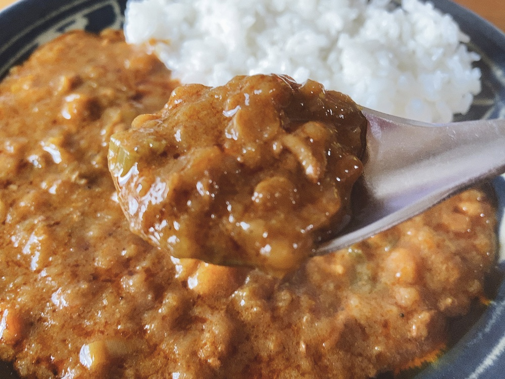 肉とレンズ豆