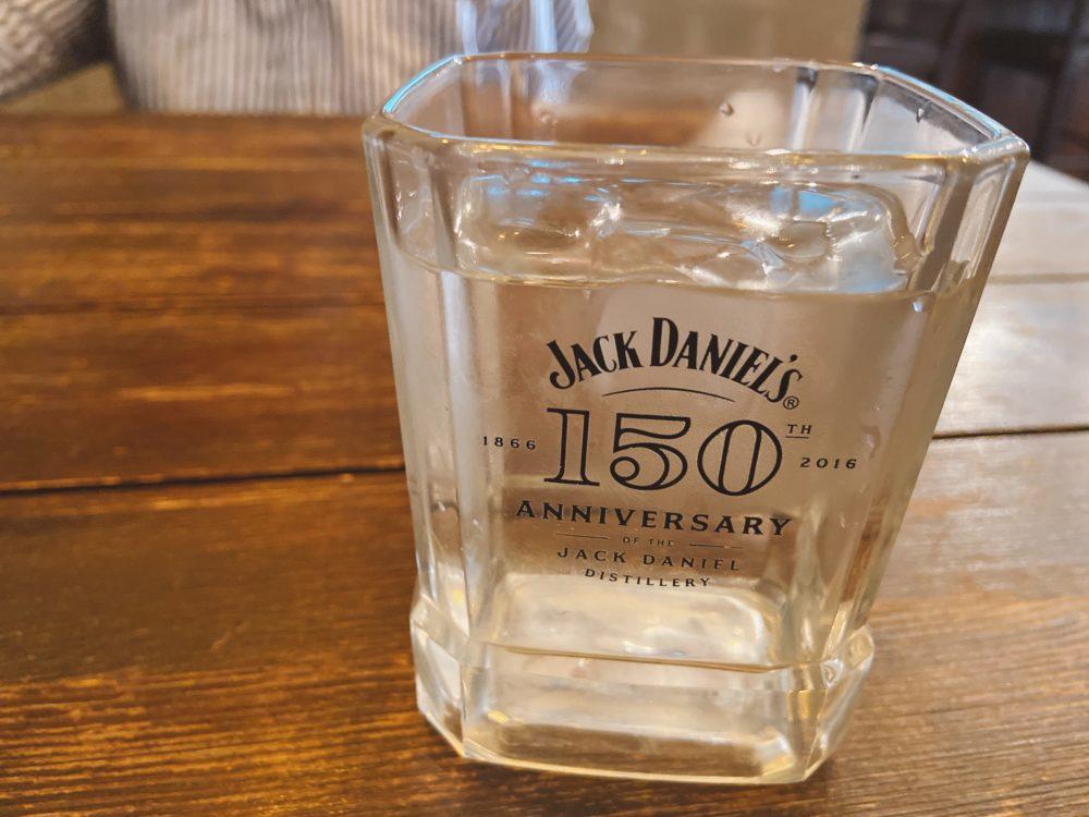 グラスがジャック