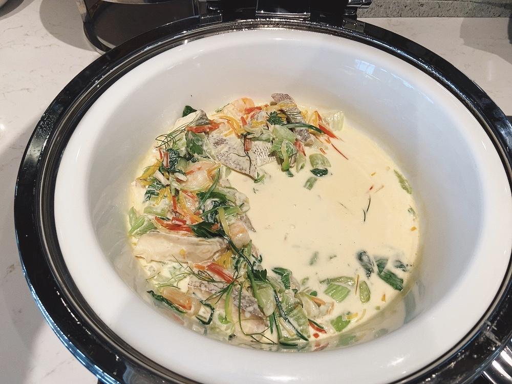 魚のクリーム煮
