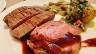 牛タンとラム肉